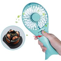 Wholesale Portable Personal Fans - AC cooling Portable Mini USB   Battery Fan Air Cooling Handheld Fan Palm-Leaf Fan Personal Cooling Fans With Rechargable Battery