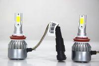 Wholesale China Led Headlight - Wholesale Automotive Led Lights H11 Led C6 Series Headlight Car Lamp Led Light China Direct