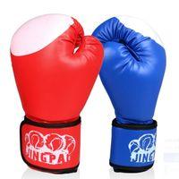 Wholesale men boxing gear online - 10 OZ PRETORIAN MUAY THAI PU LEATHER BOXING GLOVES FOR MEN WOMEN TRAINING IN MMA GRANTES DE BOXEO GLOVES COLORS