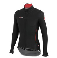 Wholesale Cycling Sleeves Winter Wear - Winter Cycling Jersey Long sleeve 2016 Castelli Thermal Fleece Bicycle Wear Bike Clothing Maillot Ciclismo