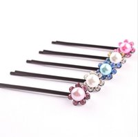 Wholesale Wholesale Hair Piece China - Free shipping Headdress hair ornaments cartoon water drill folder diamond drill folder folder FJ161 mix order 60 pieces a lot