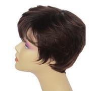 заказать парики оптовых-Европа коричневый среднего возраста и старый парик мама голова весь парик производитель оптовый заказ 100% высокое качество peruca косплей парики
