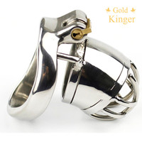 Latest Design MALE Cock cage Chastity Devices Stainless Steel sex toys Chastity Cage A271