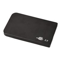 ide ssd toptan satış-Toptan Satış - USB 2.0 HDD Sabit Disk Harici Muhafaza 2.5 inç IDE SSD Mobil Disk Kutusu Kasalar dizüstü / Windows işletim sistemi için sabit sürücü hdd caddy