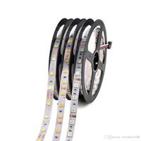 led şerit ışık makarası toptan satış-5050 3528 5630 Led Şeritler 5M 300 LEDs 12V Led Şerit Şeritler Bant Işıkları 5 m / Reel Sıcak Beyaz Kırmızı Yeşil Mavi Sarı