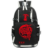 Backpacks sports associations - FFF club backpack College Associations school bag Couple breaker daypack Cartoon schoolbag Outdoor rucksack Sport day pack