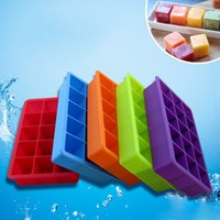 Wholesale Silicon Ice Mold - Pop Baking Mold Small Cookie Silicone Cake Mold Non-Stick Silicon Lolli Pop Moulds Chocolate Ice Lattice Bakeware Mould