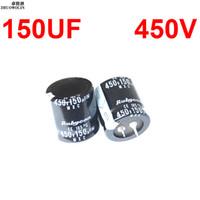 Wholesale Capacitor Sizing - Wholesale-3PC Lot 150UF 450V Electrolytic Capacitor SIZE 25X30MM YXSMDZ2577