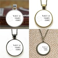 Wholesale Sugar Cubes Wholesale - 10pcs Finnk Odair Want a Sugar Cube Quote Glass Necklace keyring bookmark cufflink earring bracelet