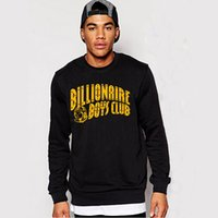 Atacado- BILLIONAIRE BOYS CLUB 100% ALGODÃO GRAPHIC MENS SWEATSHIRTS PYERX PLAYER ASAP Rocky yeezus casaco hoodies outers