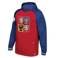 Wholesale Hockey Jersey Style Hoodie - 2016 World Cup Czech Republic Hockey Hoodie New Style Sweater Jerseys