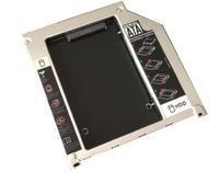 Wholesale Ide Sata Bay - Wholesale- IDE to SATA 9.5mm Aluminum 2nd Hard Drive HDD Caddy SSD Case Optic Bay Enclosure