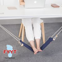 Mini Home Office Foot Rest Stand Desk Pés Hammock Table Hang Leisure Hanging Chair