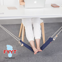 Chaise Pour Le Repos Pas Cher-Mini Home Office Pied Pied de repos Pied de bureau Hamac Table Hang Leisure Hanging Chair
