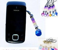 Wholesale Bead Mobile Phone Chain - 2017 change color mobile chain keychain uv test uv mobile phone straps chain phone accessories High quality uv beads checker gift