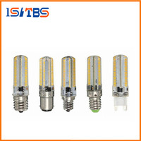 Wholesale 5w B15 Led Bulbs - G9 G4 E11 E12 E14 E17 B15 5W 7W 12W 64LEDs Crystal lamp High End Silicone Body 3014SMD LED light Bulb For Chandelier