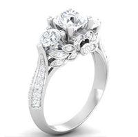 jóias gia venda por atacado-EUA GIA certificado SONA diamante 100% Anel de Prata Sólida Jóias 2ct Anéis de Noivado para As Mulheres 925 Anel de Prata Esterlina