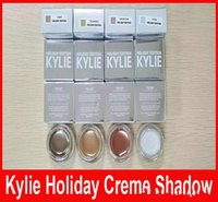 Wholesale Limited Camo - Hot Kylie Holiday Edition CAMO GOLDEN PLUM YELLOW GOLD SNOW Eyebrow cream Eyeshadow Kylie Jenner Eye Shadow Limited Edition