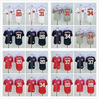 Wholesale Washington Nationals Jersey Daniel Murphy Jayson Werth Max Scherzer Bryce Harper Stephen Strasburg Baseball Jerseys Blue Red White