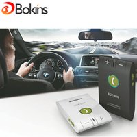 Wholesale Bluetooth Multipoint Speakerphone Car Kit - Wholesale-EGTONG 6E Car Kit Bluetooth Speakerphone Handsfree Multifuctional Wireless Music Multipoint Auto Stereo Speaker Phone Hands Free