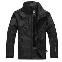 Wholesale Waterproof Jacket 5xl - Luxury brand hiking camping jackets for men new tide sport waterproof men jacket long sleeve plus size jackets men free shipping