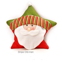 Cloth outdoor bolster pillows - price Holiday gift Hot sale Christmas pillow bolster for children gift on Chiristmas day with defferent types Christmas bolster