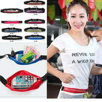 Wholesale Chinese Fashion Belts - Waist Bag Single Pocket Bag Waterproof Phone Belt Personal Purse Waist Pack Man  Women Unisex High Qualityt Fashion Casual Bag