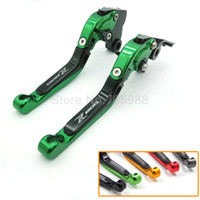 Wholesale Motorcycle Brake Clutch Lever Set - Motorbike Motorcycle Adjustable CNC Brakes Clutch Levers Set Motorbike brake For Kawasaki Z800 E version 2013-2015 F-21 K-828