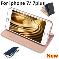 Wholesale luxury xmas gifts for sale - Luxury leather Case For iphone plus Wallet Credit Card Holder Stand Cover with Card Solt Phote Frame shell for iphone Xmas gifts