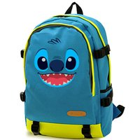 Wholesale Baby Lilo Stitch - Lilo Stitch backpack Baby daypack Out space schoolbag Cartoon film rucksack Sport school bag Outdoor day pack