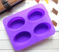 oval silicone soap molds - 100 Silicone cake mold soap mold baking pans hole oval tree of heaven molds FDA