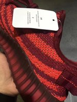Wholesale Outdoor Lighting Multi Color - 2017 new color 350 v2 shoes sneakers in the third quarter, kanye west 350 sneakers original box wine red