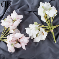Wholesale Wedding Bride House Decoration - Original Dream House DH FS125227 artificial 4 pcs Kapok flowers Bouquet for home decoration wedding decoration fake flower