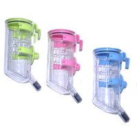 Wholesale Hanging Dog Automatic Feeders - 2017 New Pet supplies dog drinking fountains senior quality copper head 350ML Pet hanging drinking fountain 3 colors