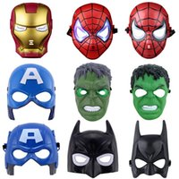 Wholesale Optimus Prime Face Mask - Adult Children Favor Lighting LED Optimus Prime Mask Halloween Cosplay Costume Huang Feng Masquerade Masks Party High Quality