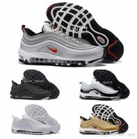 2016 Mens Fashion 97 sapatos de corrida Cheap Air Sole Cushions Sports Basketball Casual Shoes Eur 40-46