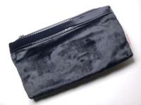 5er set handtaschen großhandel-Großhandels5pcs Luxuxlogoschwarz-Samtmaterial Kosmetiktasche hohes qulity für Verfassungs-Speicherverfassungsfall VIP-Geschenklogo für Handtasche