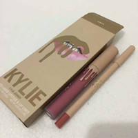 Wholesale Glitz Wholesaler - Free DHL Kylie Jenner Matte Liquid Lipstick Set with 12 Different Colors GLAMOUR JUNE BUG GLITZ COMMANDO Kylie Vacation Lip Kit