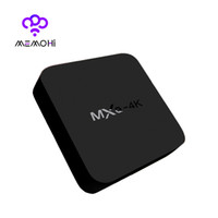 Wholesale Smart Tv Set - 14PCS MXQ 4K Android 5.1 Smart TV Box Rockchip RK3229 Quad Core 32Bit UHD 4K 2K H.265 Support WiFi 2.4GHz Media Player IPTV Set-top box