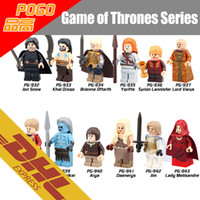 block building games - 480pcs Mix Order Minifig Game of Thrones Figures Jon Snow Tyrion Lannister A Song of Ice and Fire Mini Building Blocks Figure Toy