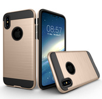 Wholesale Chinese Goods Wholesaler - Good Quality 2 in 1 Hybrid Rugged Armor Case Smart Cover For iPhone X 8 6 6S 7 plus 5 5s Samsung Note 8 S8 S9 Plus S7 edge Plus Back Cover