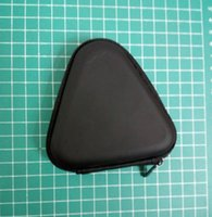 Wholesale toy carry case - 1 6sq Triangle Fidget Spinner Cases EVA Portable Carry Storage Bag Box Stress Relief Toys Bags Black Zipper Case High Quality