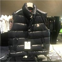 Wholesale Feather Vests - Fall Clothes Fashion Style Men's Vests Puffer Duck Down Coat Stand Collar Male Feather Vest Outdoor Down Jacket
