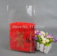 Wholesale Wholesale Clothing Magazines - 100pieces lot Big OPP Bag 26X30cm Self Adhesive Seal plastic bags, All Clear resealable pouches packaging for clothes magazine