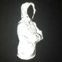 Wholesale Jaqueta Nylon Masculina - Wholesale- Reflective Jacket Windbreaker Men Women Brand Hip Hop Night Sporting Mens Jackets and Coats Hooed fluorescent Jaqueta Masculina