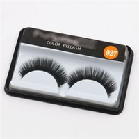 Wholesale Synthetic Hair Wholesale Prices - New Style Makeup Nature Bare Makeup Long Eyelash Extensions Hand-made False Eyelashes 1.3cm Factory Price