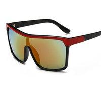 satılık çerçeveli aynalar toptan satış-Sıcak Satış Boy Erkekler Güneş Gözlüğü Marka Yeni Kadın Vintage Büyük Siyah Çerçeve Güneş Gözlükleri UV400 Ayna Lens ulosculos UV400 Y80