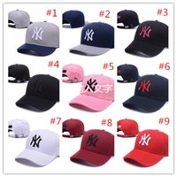 Wholesale Wholesale Summer Hats For Sale - 2017 hot sale Fashion sports baseball cap HIp Hop style hat ball golf caps for women men fashion dynamic headdress 9 colors