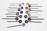 Wholesale Side Folder Clip - Hairpin ornaments Liu Hai clip headdress side folder diamond diamond clip on the word folder sweet YZJ-23