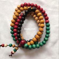 ingrosso porcellana autentica gioielli-Autentico Vietnamita Agarwood Incenso 108 Perline 8mm Moda Preghiera Perline Bracciali Uomo Gioielli Legno Wristband dalla Cina Yiwu Perline Strands